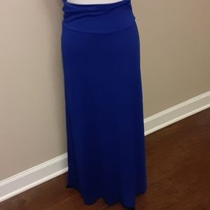 MOA USA Knit royal blue skirt